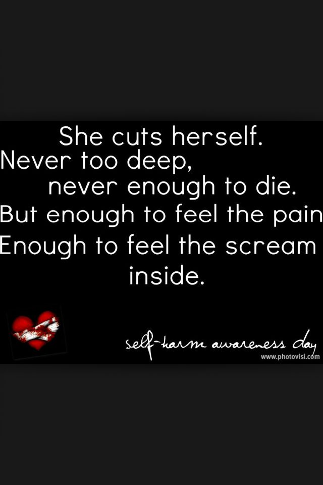 Quotes about Harming oneself 27 quotes