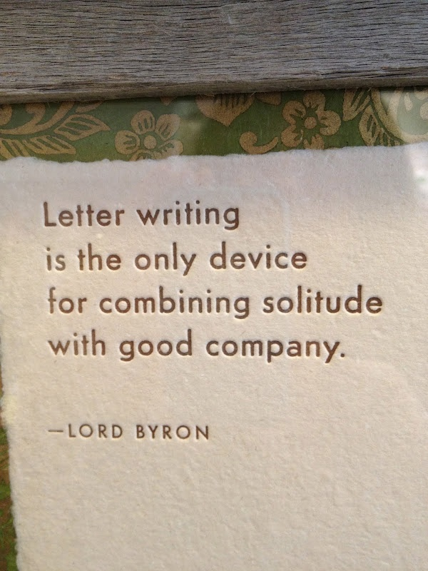 Quotes about Letter Writing 76 quotes