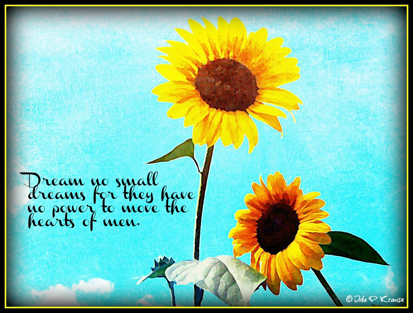 Quotes about Sunflower (50 quotes)