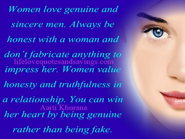 And sincerity love about quotes Sincerity Quotes