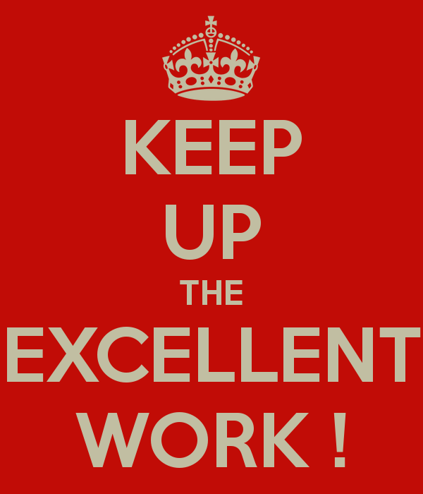 Quotes About Excellent Work 84 Quotes