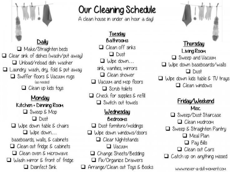 Quotes about Cleaning and Household Chores (14 quotes)