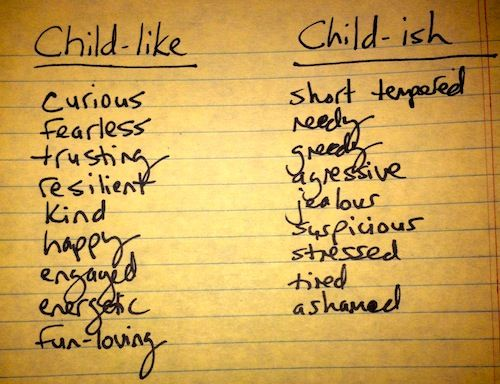 quotes about childlike quotes