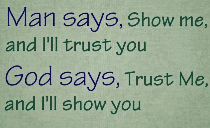 Quotes about Having trust in god (20 quotes)