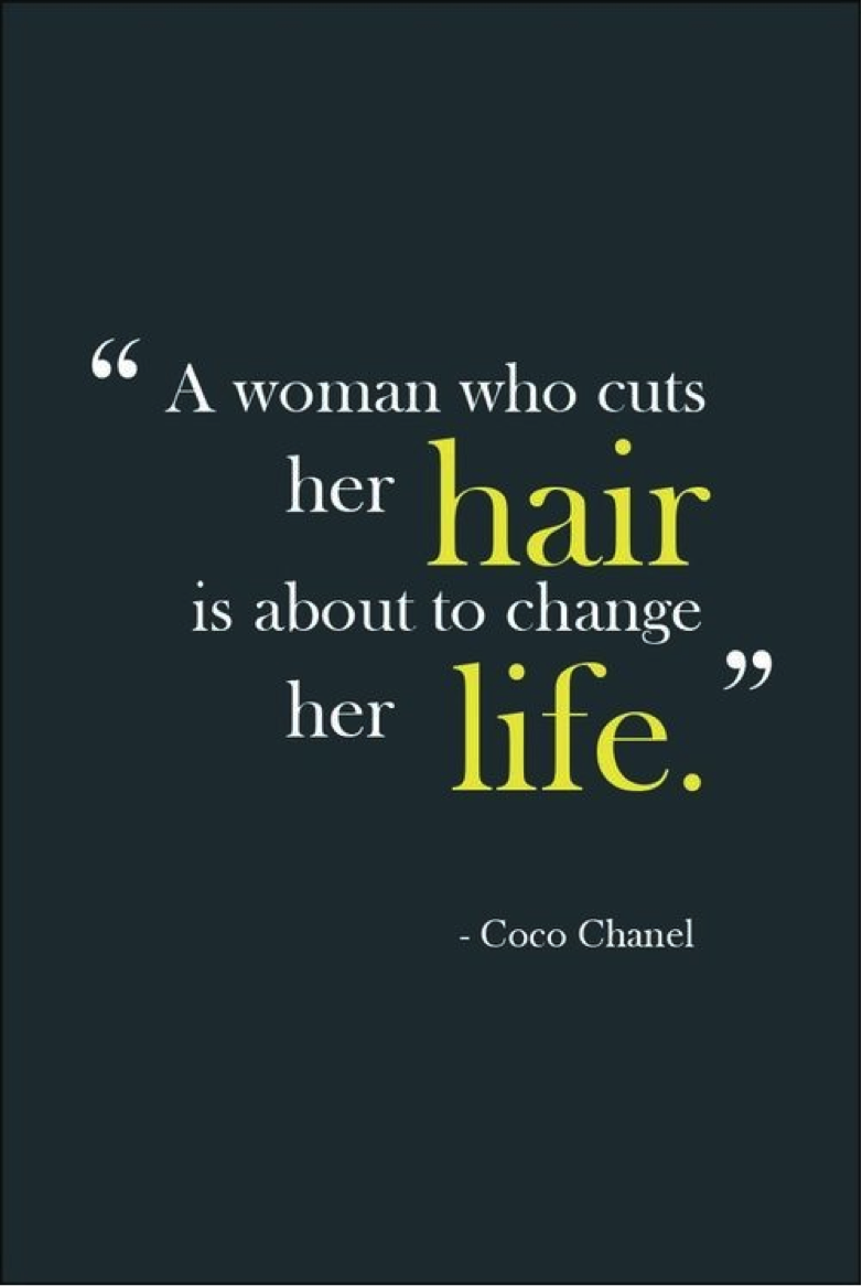 Quotes About New Haircut 25 Quotes