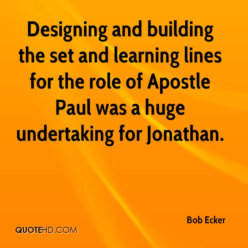 Quotes about Apostle (89 quotes)