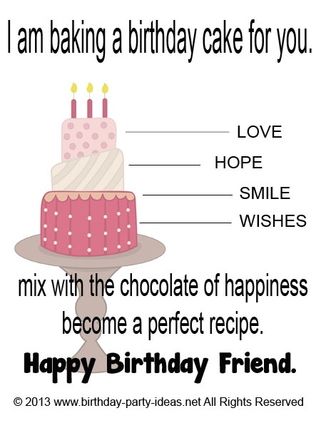 Quotes about Cake and friends (22 quotes)