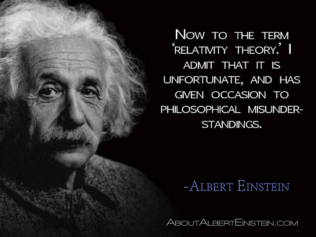 Quotes About Theory Of Relativity 88 Quotes