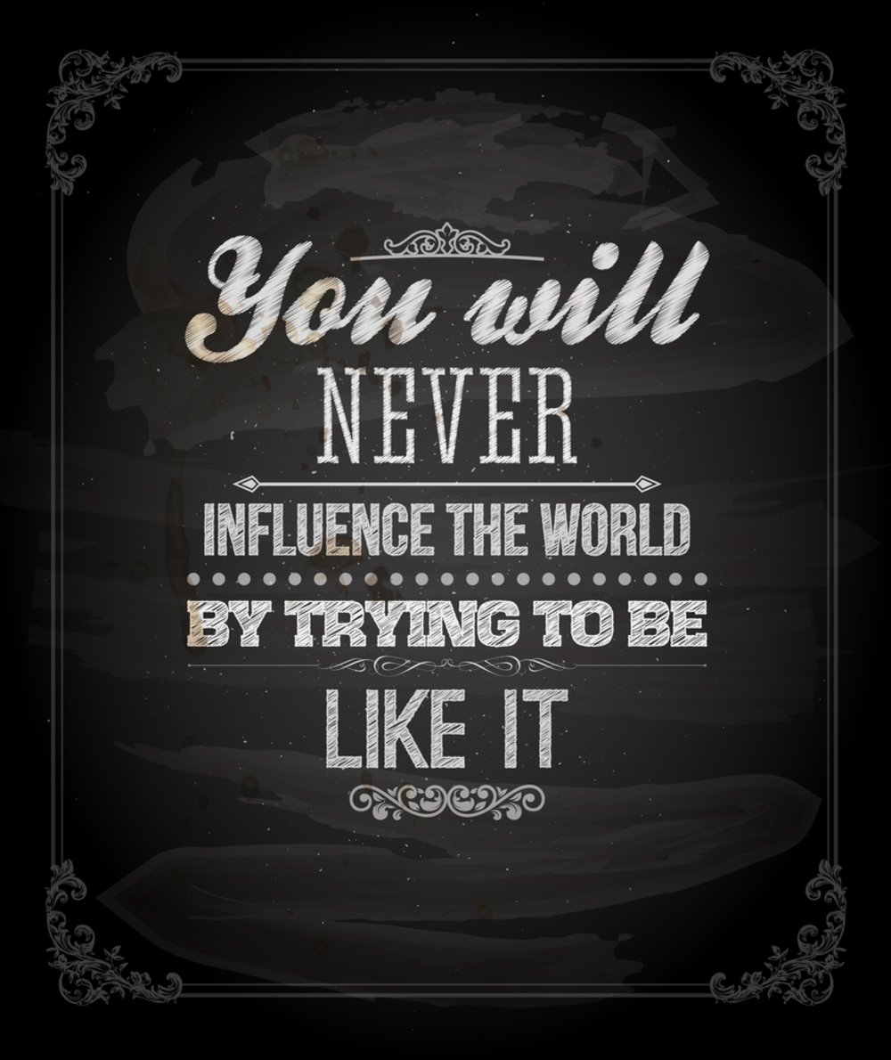 Quotes about Society influence (50 quotes)