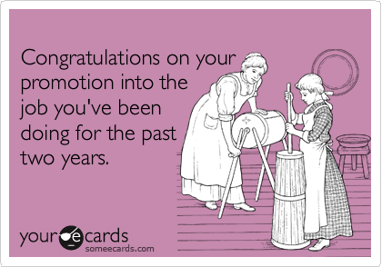 Quotes about Deserving promotion (23 quotes)