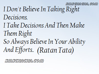 Quotes About Taking Right Decision 20 Quotes