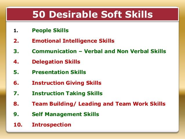desirable job skills
