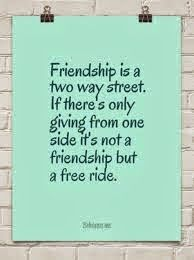 quotes about two way friendships quotes