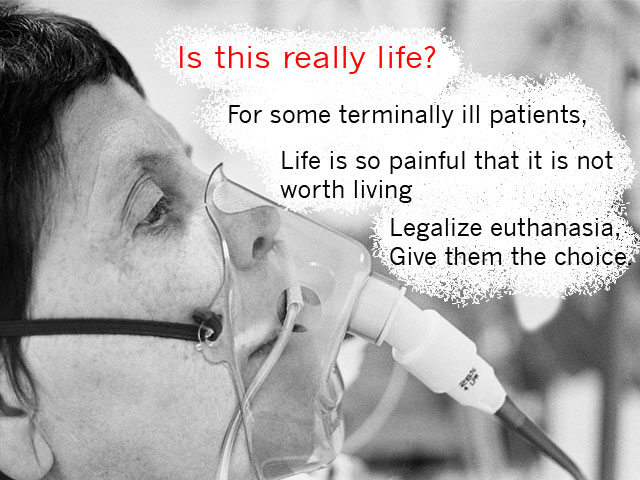 an argument in favor of legalizing euthanasia in the united states What is the great benefit of legalizing euthanasia or physican who die each year in the united states the only reason to favor pas rather than euthanasia.