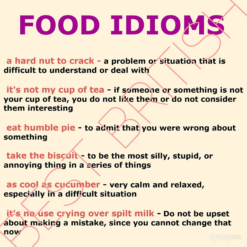 Example Of Idioms With Meaning And Sentence Choice Image Example