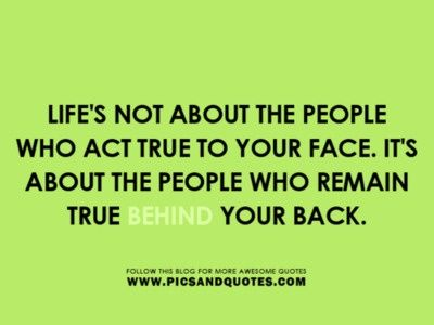 Quotes about Two faced family (18 quotes)