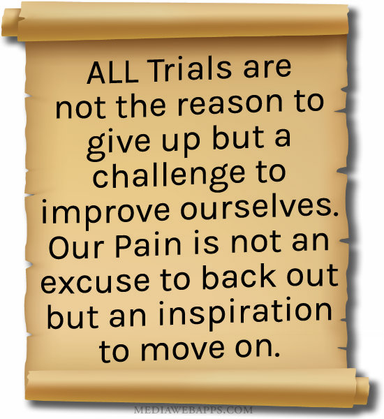 Quotes About Life Trials 69 Quotes