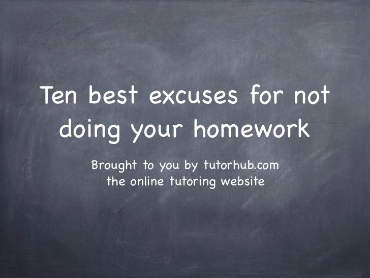 Not doing your homework quotes essay in high school