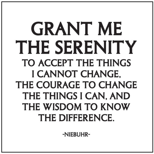 Quotes about Serenity prayer (46 quotes)