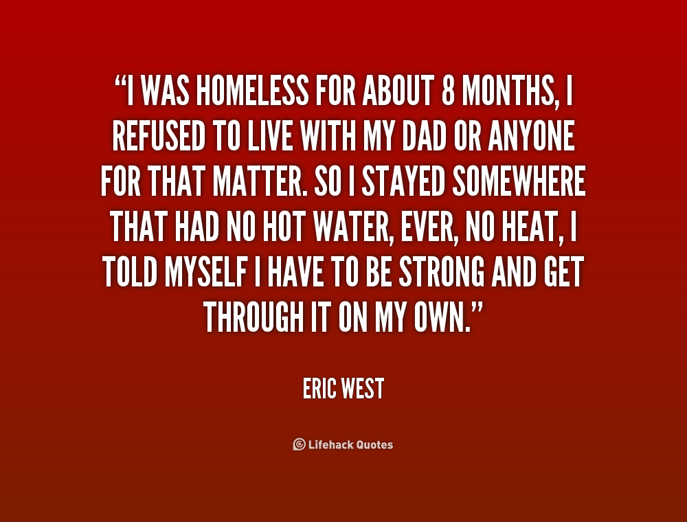 Quotes About Homelessness Awesome Quotes About Homelessness 70 Quotes