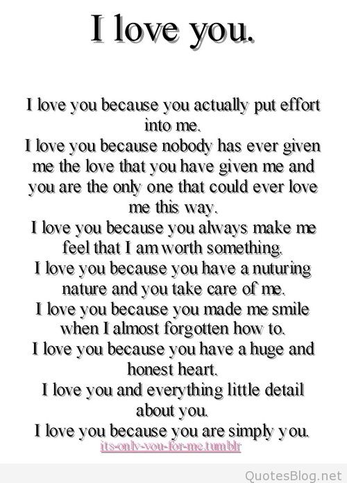 Quotes about Way i love you 137 quotes