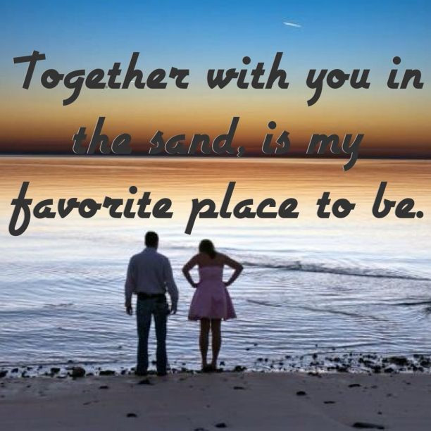 Quotes About Beach Romance (27 Quotes