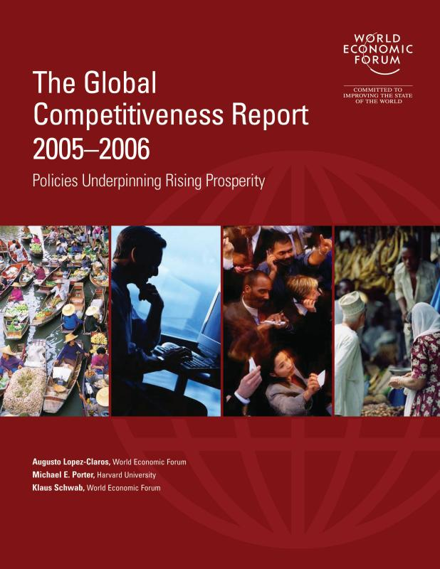 the global competitiveness report economics essay Global factors and strategy businesses are affected by an external environment as much as they are affected by the competitors global factors influencing business are legal, political, social, technological and economic.