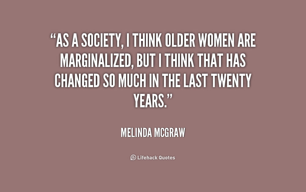 Dating older women quotes