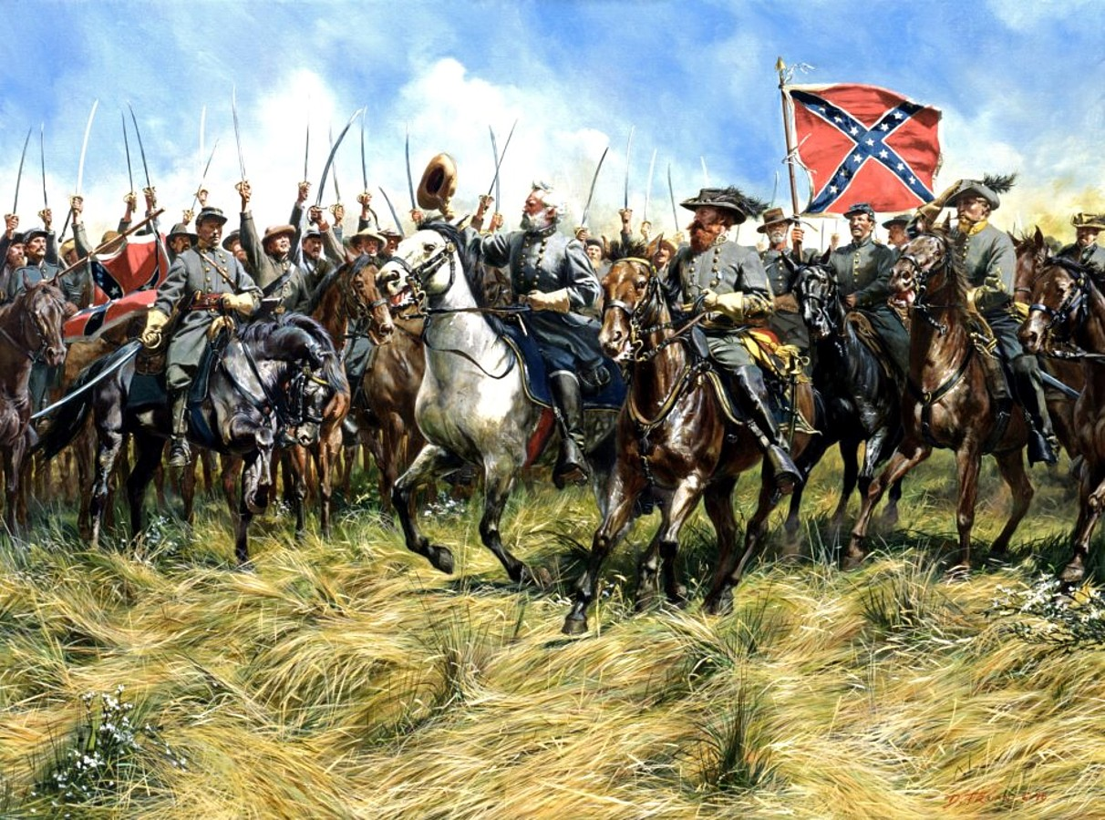 a comparison between two famous generals of the american civil war robert e lee of the confederate a The leadership styles of general robert e lee and two men, the name robert e lee has become of the confederate armies in the american civil war.
