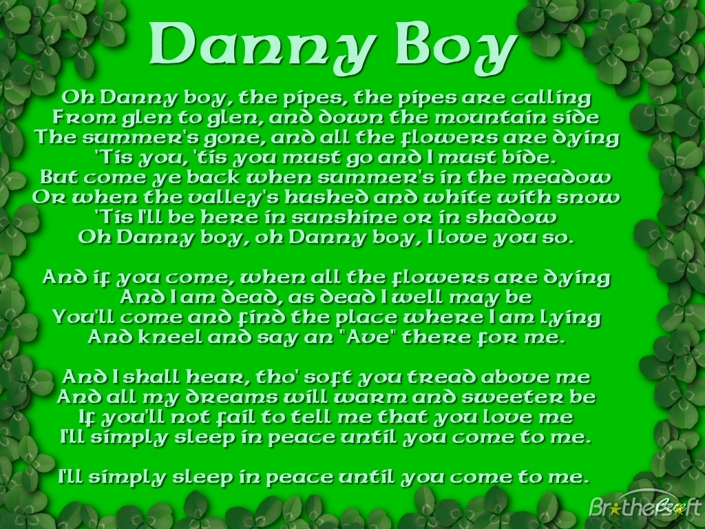 Quotes about Danny boy (23 quotes)