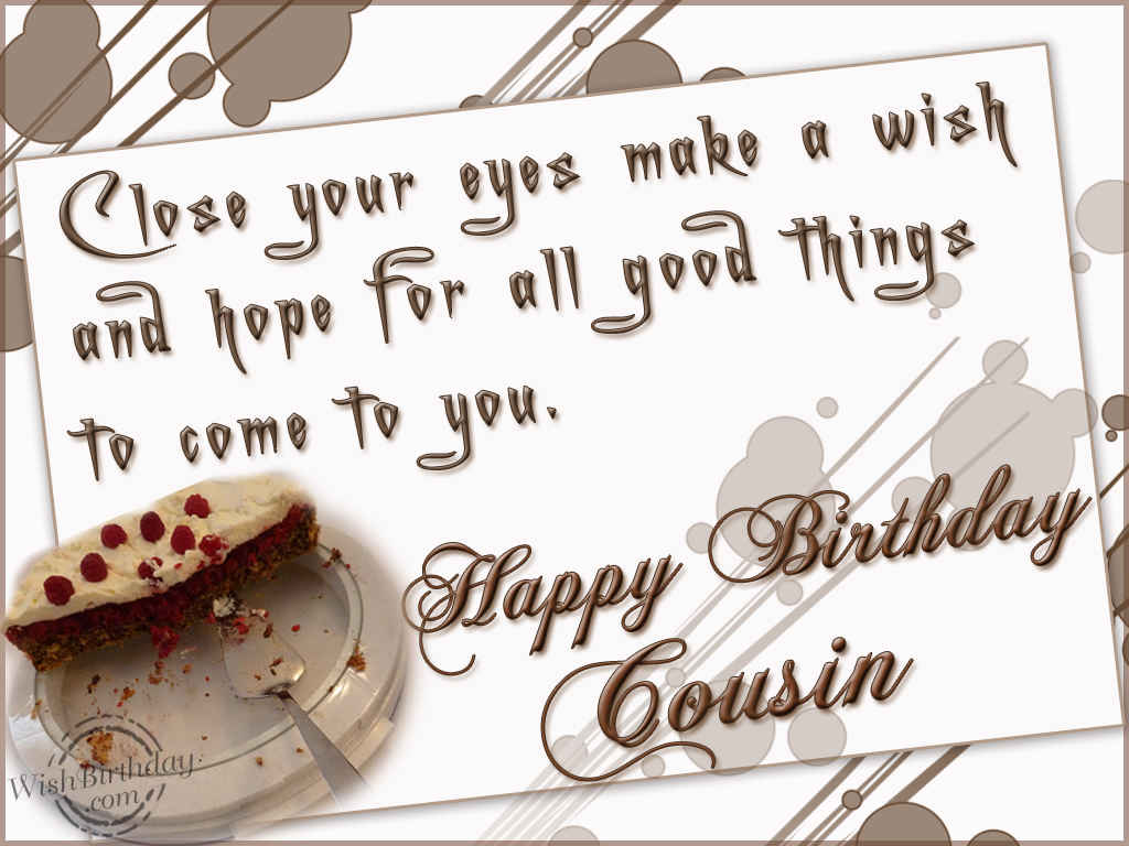 Quotes About Cousin Birthday 27