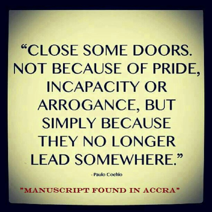 Quotes About Closing Doors 28 Quotes