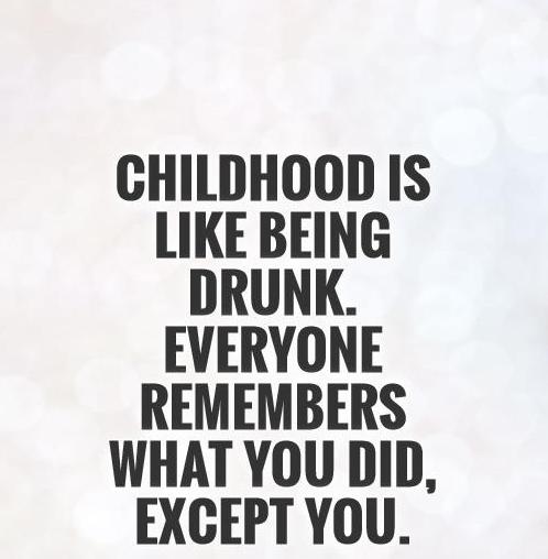 Image result for remembering childhood