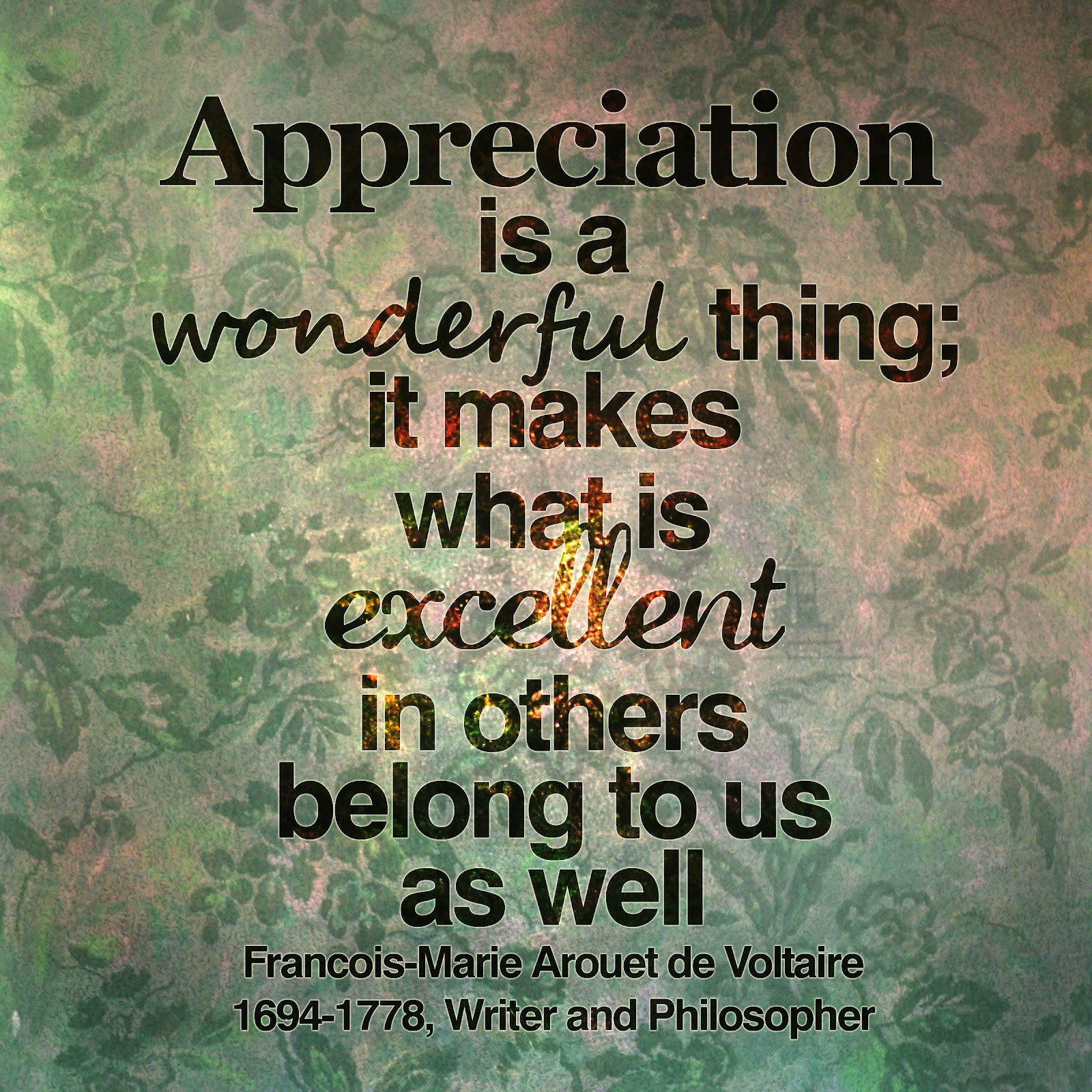 Quotes about Appreciating work (41 quotes)
