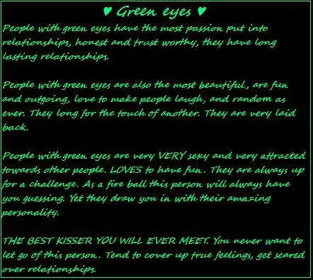 Quotes about Green Eyes (73 quotes)