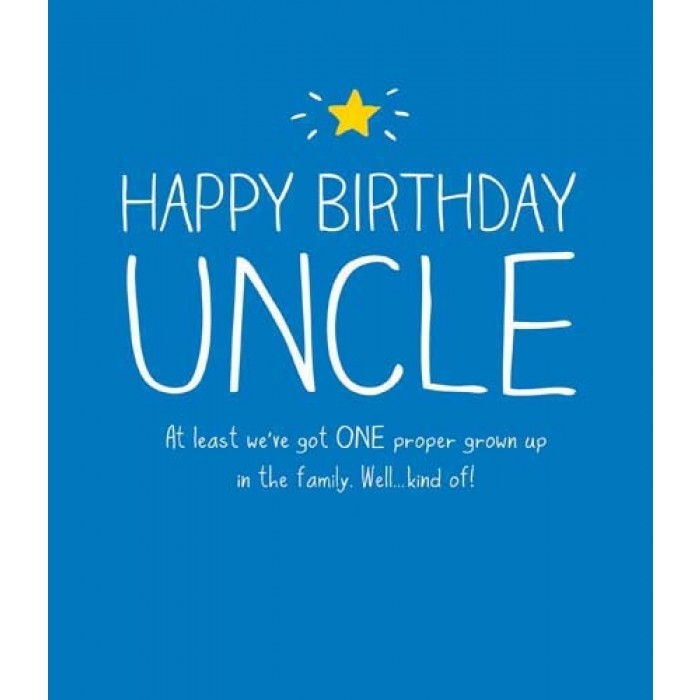 Quotes About Uncle Birthday