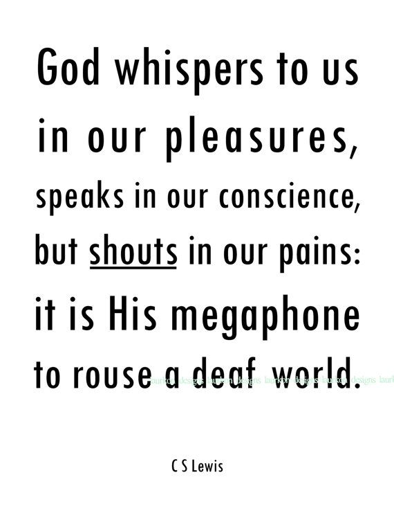 God whispers quote