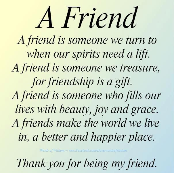 Quotes About Thanks And Friendship 23 Quotes