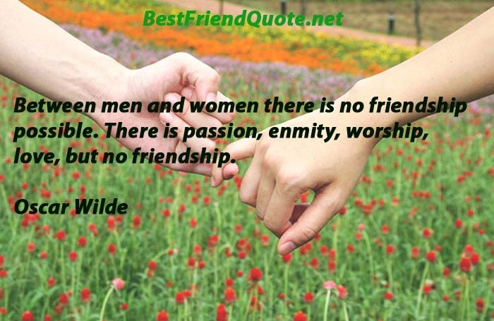 pure friendship between men and women