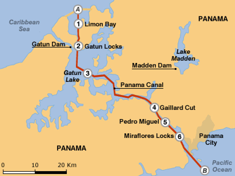 the intervention of the united states of america in the building of the panama canal In the late 1800s the united states in latin america the us was interested in building a canal across central america because it.
