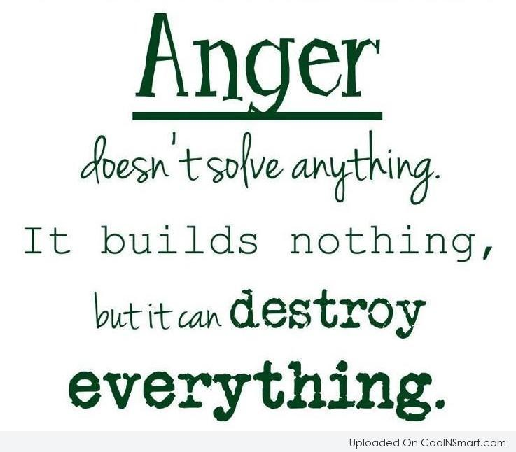 Quotes about Anger with family (21 quotes)