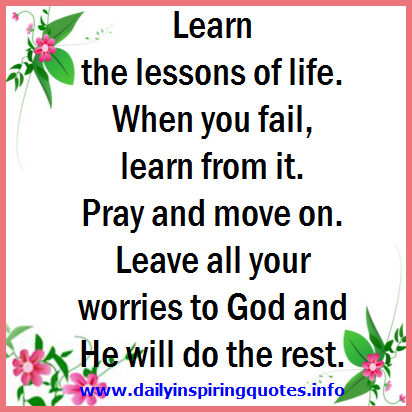 quotes about learning the lessons quotes