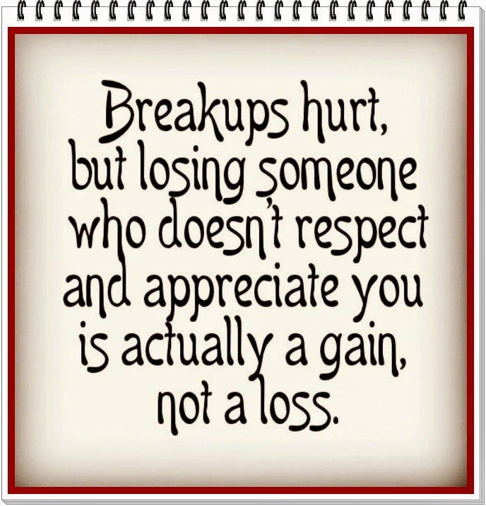 love and rejection breaking up