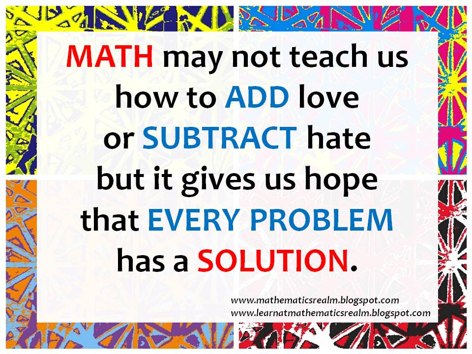Quotes about Math Love (33 quotes)