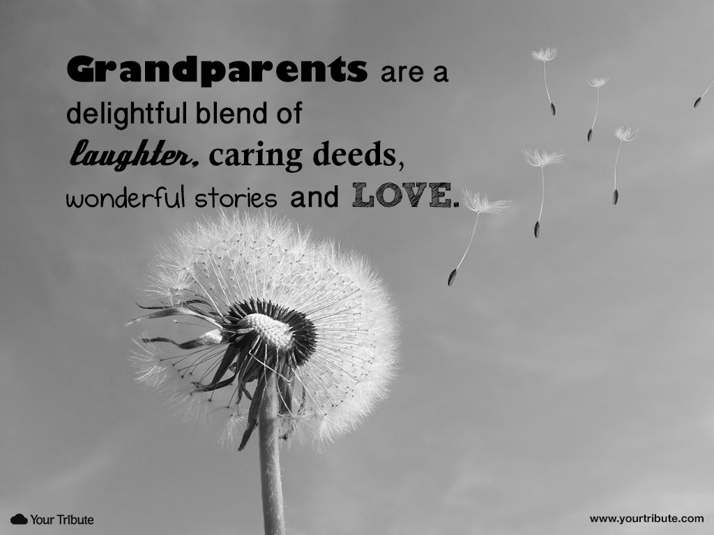 Quotes about Losing grandparents (8 quotes)