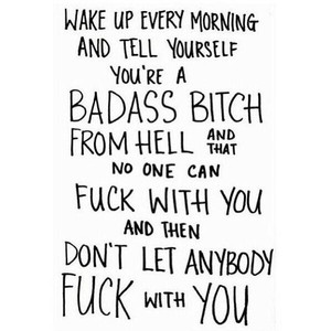 Quotes about Badass (116 quotes)