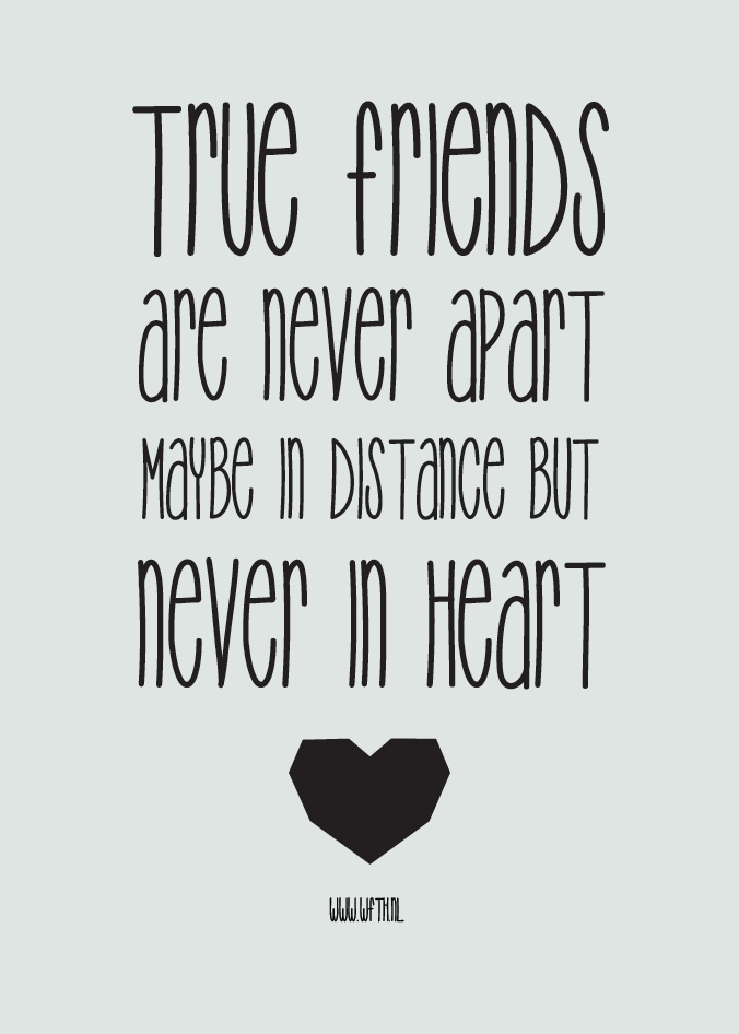quotes about friends far apart quotes