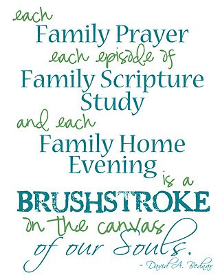 Quotes about Family home evening 31 quotes
