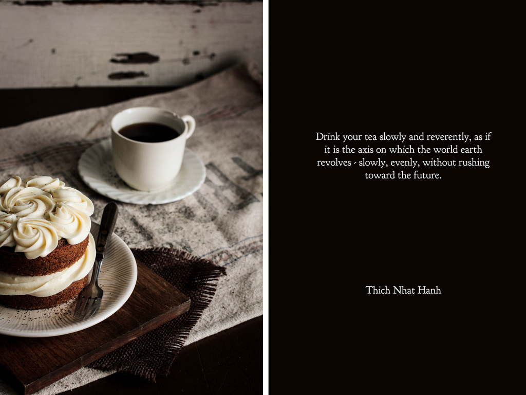Quotes About Cake And Coffee 16 Quotes