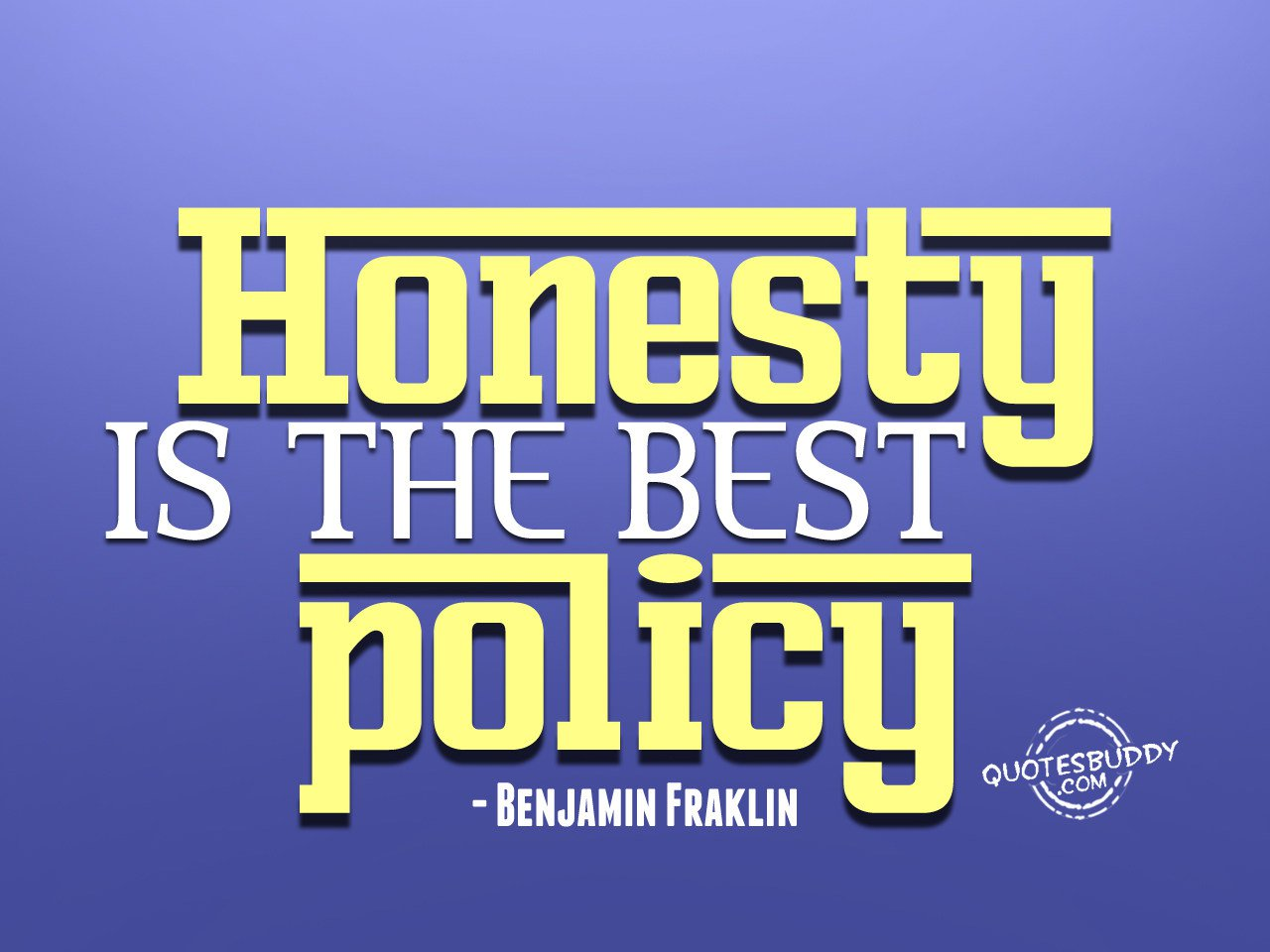 Quotes about Honesty I...